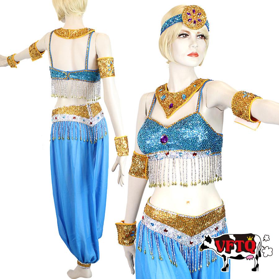 コスプレ 衣装 VFTQ ビフテキ VF-OR-DRS013 ドレス スパンコール アラビアン6点セット 正規品