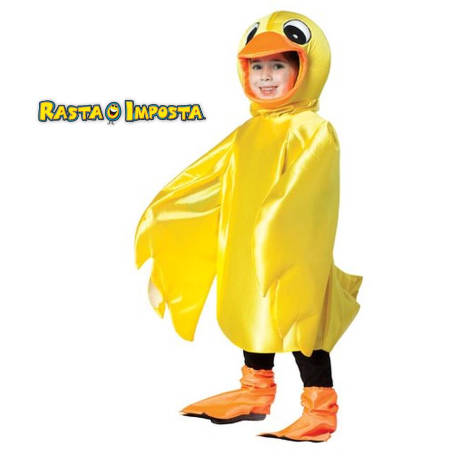 【子供 / キッズ】RASTA IMPOSTA ラスタインポスタ RI-6512-34 アヒル 3点セット KIDS ネット限定 正規品 ダック ひよこ イエロー 黄色 コスプレ コスチューム 衣装 衣裳 仮装 女の子 男の子 かわいい おしゃれ ハロウィン 海外 インスタ映え costume TDL USJ