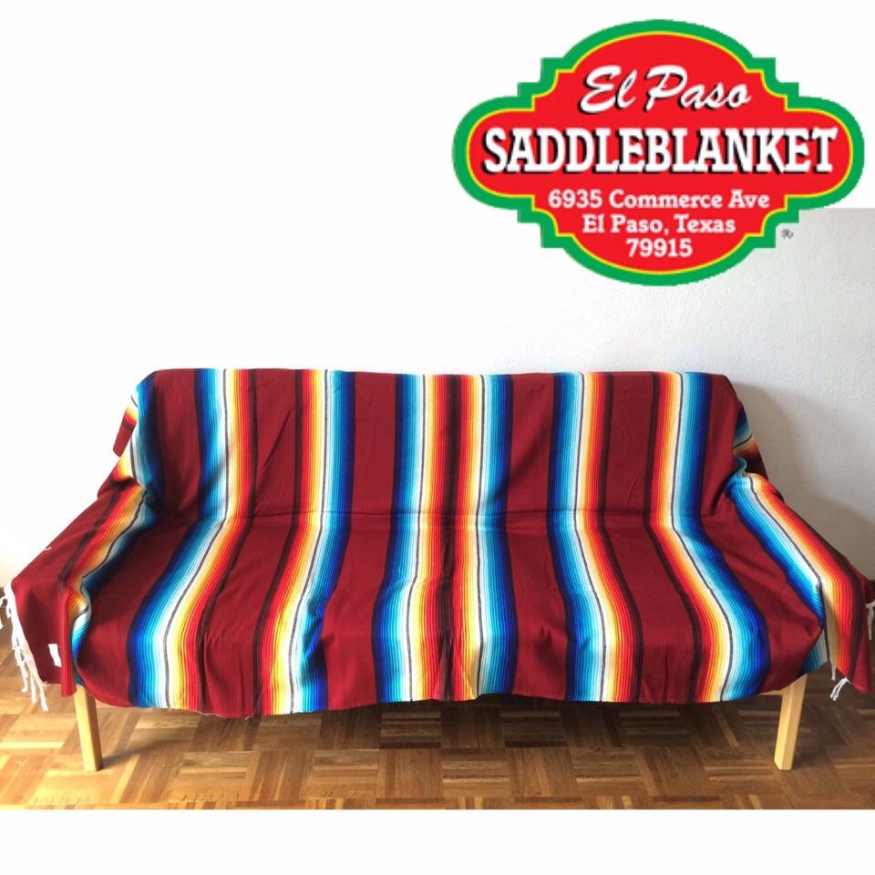 El Paso Saddle Blanket Co. Made Elpasosaddleblanket Sara PE