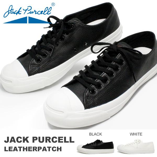 コンバース レザー ジャックパーセル メンズ スニーカー ローカット 靴 CONVERSE JACK PURCELL LEATHERPATCH 送料無料