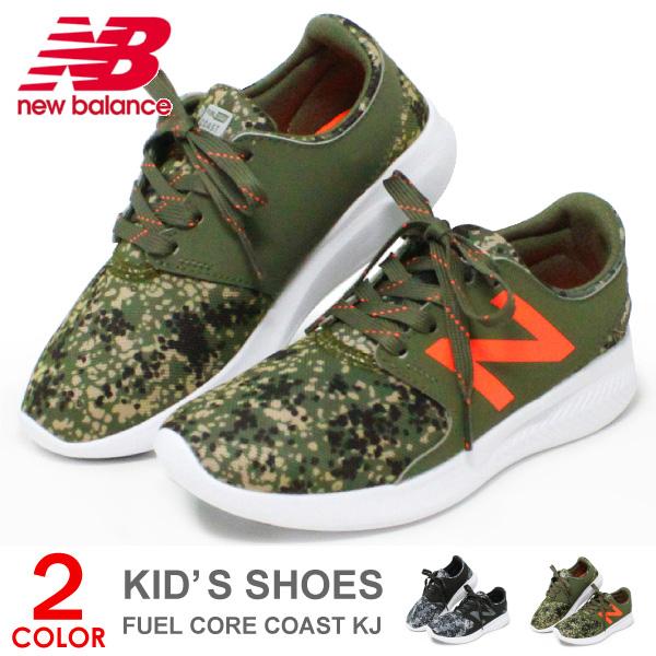 9c5d331ec63c0 ニューバランス キッズ スニーカー キッズシューズ 男の子 子供 靴 ジュニア シューズ New Balance FUEL CORE COAST KJ