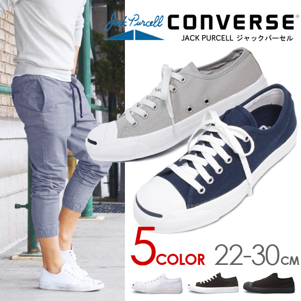 Converse Jack Pursel Lady s men sneakers CONVERSE JACK PURCELL low-frequency  cut black white navy bcd2b19b6