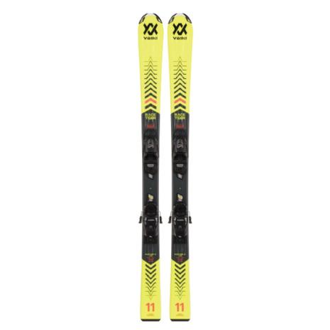 安い フォルクル(VOLKL) スキー板 ジュニア セット ビンディング付属 20-21 レースタイガー vモーション イエロー+7.0vMTJR.R 120465/6262T1VA (キッズ), SEKIDO RC SELECT 59959ae0