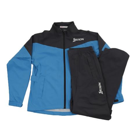 スーパースポーツゼビオ市場店  スリクソン(SRIXON) ゴルフウェア メンズ レインウェア ブルー SMR9000 BLU 《B》 付属品:B (Men's)