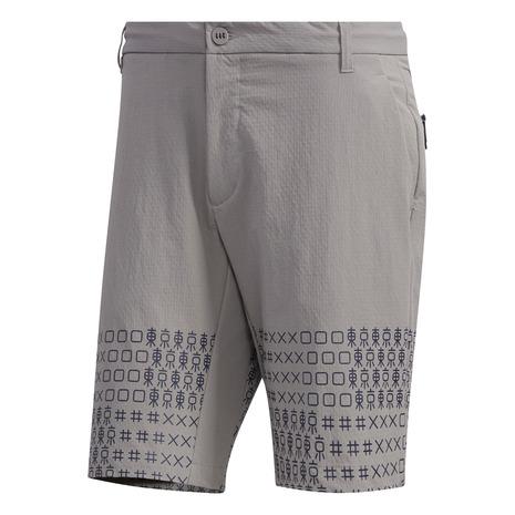 アディダス(adidas) アディクロス TOKYOプリント ショートパンツ GLD58-FJ4413GRY (Men's)