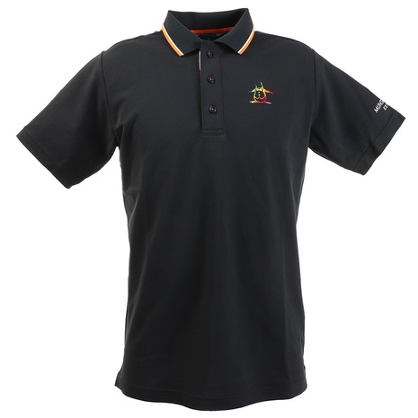マンシングウエア(MUNSING WEAR) ポロシャツ メンズ ペルヴィアンピマ半袖シャツ MGMPJA06-NV00 (Men's)