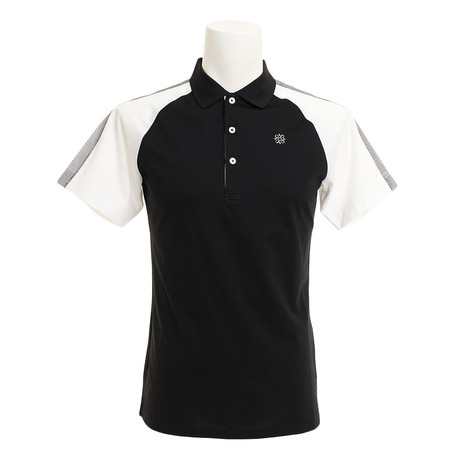 セントアンドリュース(ST.ANDREWS) ゴルフ White Label COOL ハイゲージラグランポロシャツ 042-9160351-010 (Men's)