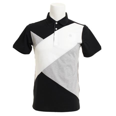セントアンドリュース(ST.ANDREWS) White Label COOL ハイゲージクロスポロシャツ 042-9160453-010 (Men's)