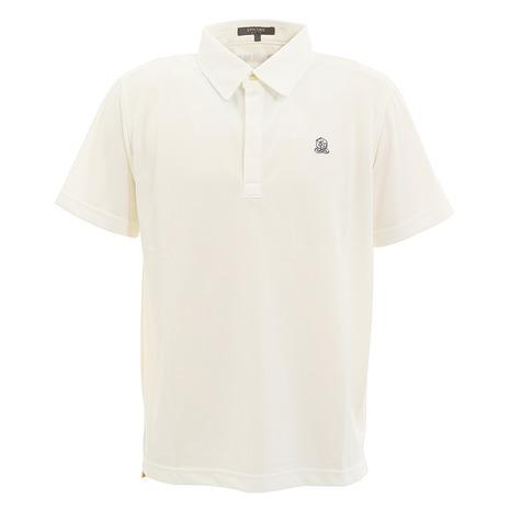 エピキュール(epicure) ゴルフウェア メンズ 半袖シャツ EN37JG08 WHT (Men's)