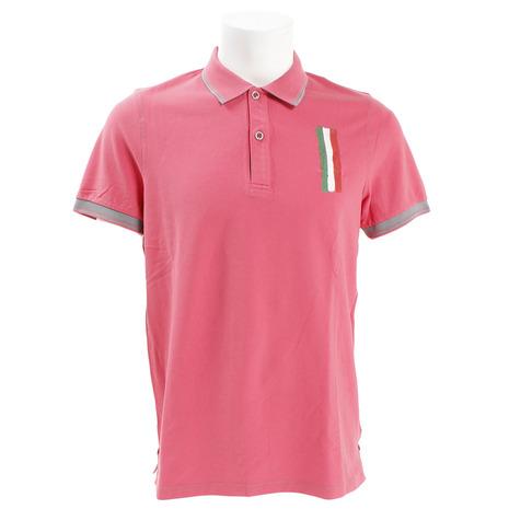 DIMATTIA ゴルフウェア POLO MM Piquet DM31JG01 RED (Men's)