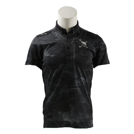 オークリー(OAKLEY) SKULL CLATHRATE SHIRTS 434077JP-00G (Men's)