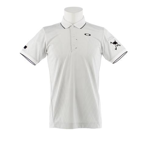 オークリー(OAKLEY) ゴルフウェア メンズ SKULL BRBLE JQ POLO 434176JP-100 (Men's)