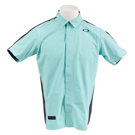 オークリー(OAKLEY) ゴルフ ウエア ポロシャツ メンズ メンズ SKULL SYNCHRO 半袖シャツ 401920JP-78K (Men's)