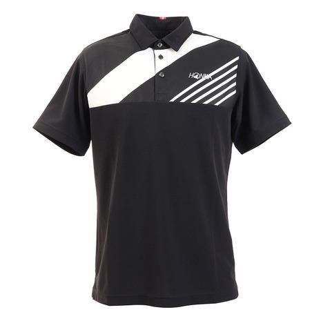 本間ゴルフ(HONMA) ゴルフウエア メンズ ハイゲージ 半袖シャツ 031-733114-BK (Men's)