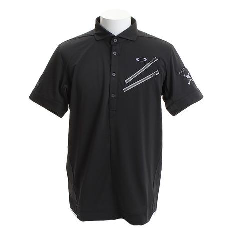 オークリー(OAKLEY) ゴルフ ウエア ポロシャツ メンズ メンズ SKULL CLAWZIP シャツ 434389JP-02E (Men's)