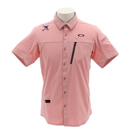 オークリー(OAKLEY) SKULL BREATHA 半袖ポロシャツ 401922JP-40J (Men's)