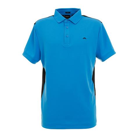 Jリンドバーグ(J.LINDEBERG) ゴルフウエア メンズ カラー切り替えポロシャツ 071-22445-095 (Men's)