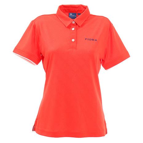 フィドラ(FIDRA) ミニ襟ポロシャツ FD5HUG02 RED (Lady's)