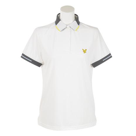 ライルアンドスコット(LYLE&SCOTT) 【多少の傷汚れありの為大奉仕】ゴルフウェア レディース LGW-18S-P05-WHITE 半袖 シャツ (Lady's)