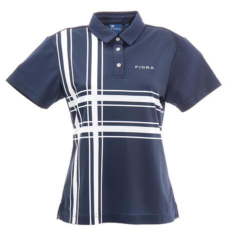 フィドラ(FIDRA) ブロックポロシャツ FD5HUG12 NVY (Lady's)