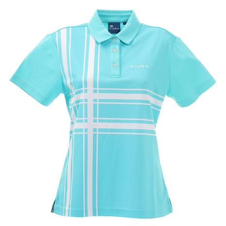 フィドラ(FIDRA) ゴルフ ポロシャツ レディース ブロックポロシャツ FD5HUG12 MNT (Lady's)