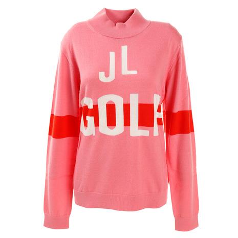 Jリンドバーグ(J.LINDEBERG) ゴルフウェア レディース GOLF COOL MAX ニット セーター 072-11920-072 (Lady's)