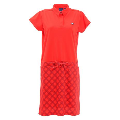フィドラ(FIDRA) ジャガードワンピース FD5HUQ07 RED (Lady's)