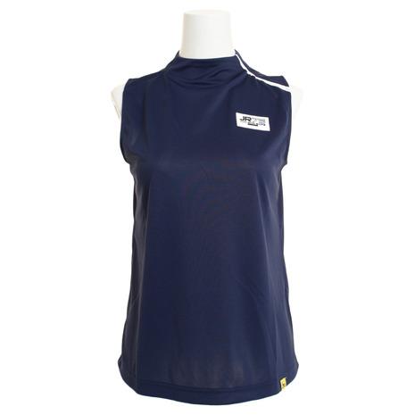ジュンアンドロぺ(JUN&ROPE) ゴルフウェア レディース スタンドカラーノースリーブシャツ ERM49090-40 (Lady's)