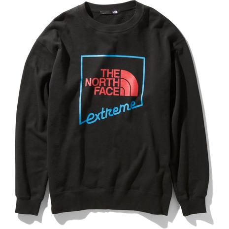 ノースフェイス(THE NORTH FACE) エクストリームクルーネックトップ NT12032 K (Men's、Lady's)