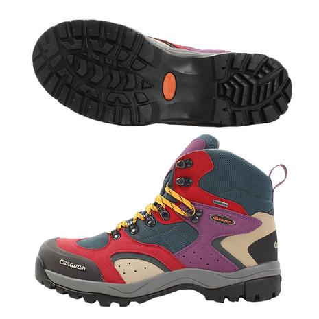 キャラバン(Caravan) トレッキングシューズ メンズ 登山靴 C1-02S MLT 0010106-888 (Men's)