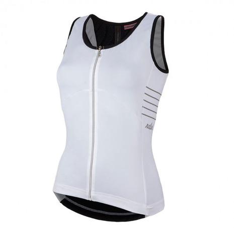 ナリーニ Nalini Agua Zip Lady タンクトップ サイクルウェア 0228174291-16SS レディース メンズ 1着でも送料無料 NAVY 美品
