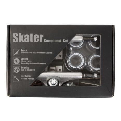 スケーター(SKATER) スケートボード エクストリームスポーツ スケーター コンポーネントセット SKBOX09 (メンズ、レディース、キッズ)