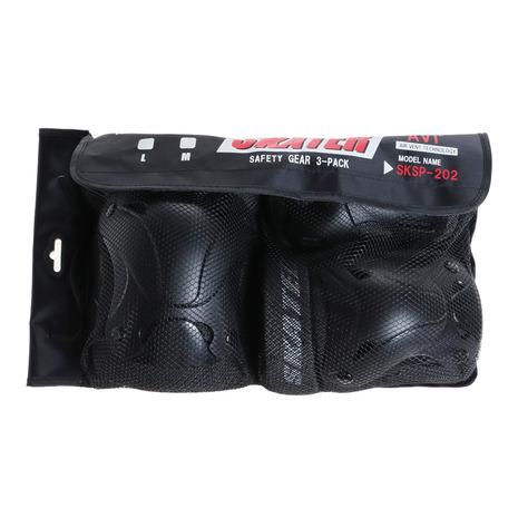 スケーター 引出物 SKATER 3点セーフティセット Lサイズ SKSP202L- 流行のアイテム メンズ レディース キッズ