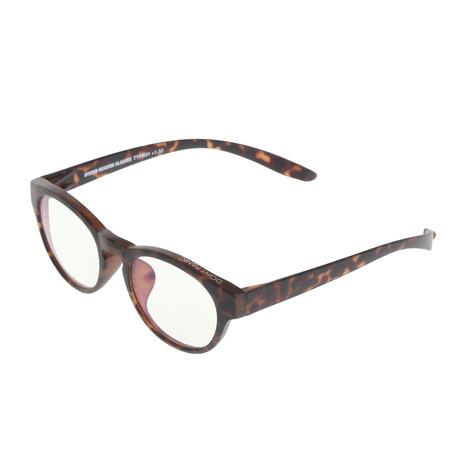 DONT PANIC(DONT PANIC) タイプ01 マットトートイズ+1.5 老眼鏡 DPR01-0301-6BP3 (Men's)
