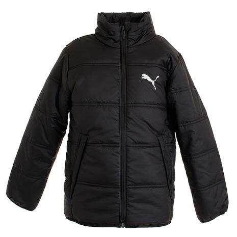 プーマ PUMA ジュニア 店舗 PADDED ジャケット オンライン価格 内祝い キッズ BLK 581105-01