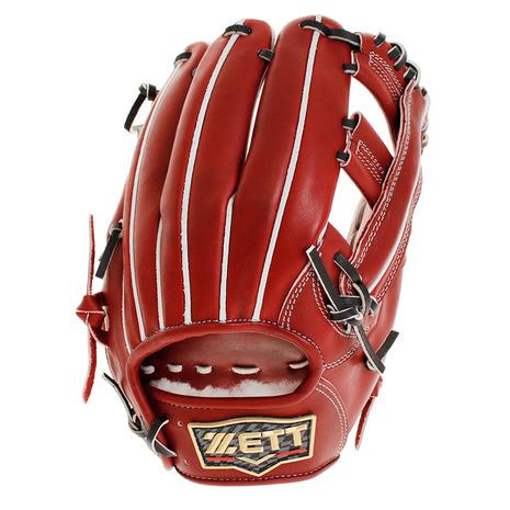 ゼット(ZETT) 野球 硬式 グラブ プロステイタス プレミアム 内野手用 収納袋付 BPROGP6-4000 (Men's)