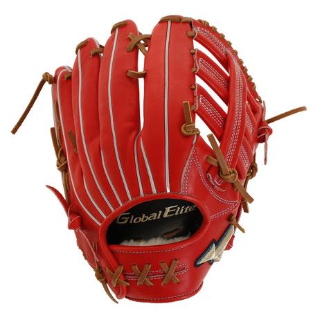 ミズノ(MIZUNO) 野球 硬式 グラブ グローバルエリート Hselection インフィニティ 外野手用 1AJGH22307 70 (Men's)