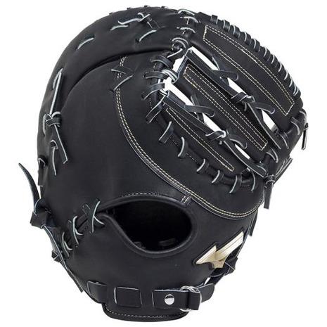 ミズノ(MIZUNO) 硬式用グラブ グローバルエリート Hselection02 一塁手用 コネクトバッグ型 1AJFH18310 09 (Men's)