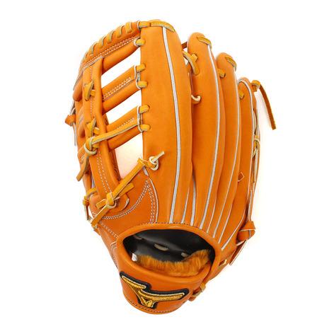 ミズノ(MIZUNO) 硬式用野球グローブ MP HAGA B 1AJGH79907 542H (Men's)