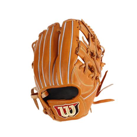 ウイルソン(WILLSON) 軟式用グラブ BL DUAL 内野手 WTARBSD6H83 (Men's)