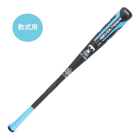 セール価格 美津和タイガー 大注目 mitsuwa-tiger 軟式用バット iotaHWS-D 84cm RBRPUHSD84-210 メンズ 平均720g
