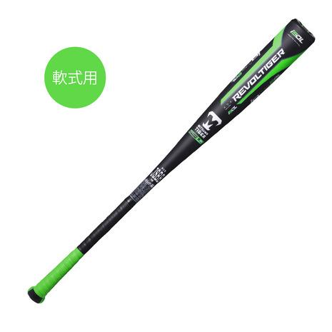 美津和タイガー(mitsuwa-tiger) 野球 軟式 バット レボルタイガー イオタ イオタ ハイパーウィップ スーパー ダブルレイヤー フリー 84cm/720g平均 RBRPUHSDF (メンズ)