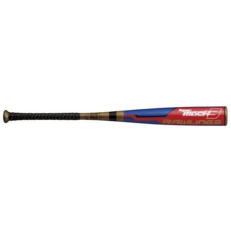 ローリングス(Rawlings) 野球 バット ジュニア軟式HYPER MACH3ミドルバランスハイパーマッハ BJ9HYMA3-RY/RD-74 (Jr)