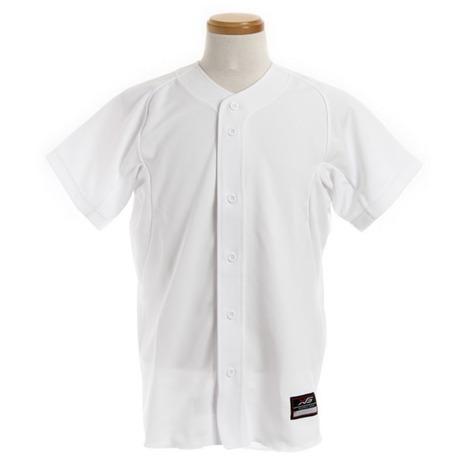 スーパースポーツゼビオ市場店 エックスティーエス 野球ウエア ユニフォーム Fオープンシャツ XTS メンズ 購買 723G5ES5919 ☆新作入荷☆新品 野球 WHT シャツ