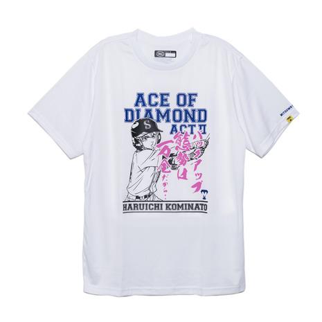 美津和タイガー mitsuwa-tiger Tシャツ 激安価格と即納で通信販売 メンズ 半袖 ダイヤのA 小湊春市 ウェア スポーツ MT7HSA79-010 激安通販ショッピング 野球 一般