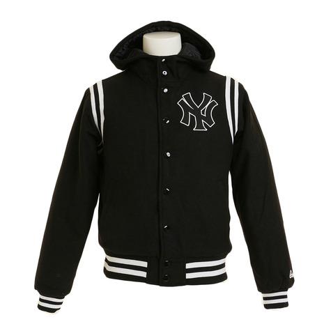 MAJESTIC 【ゼビオオンラインストア価格】ニューヨーク・ヤンキース フーデットスタジアムジャケット MM23-NYK-0110-BLK5 (Men's)