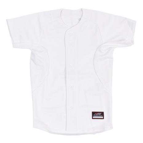 定番スタイル 本日の目玉 エックスティーエス XTS 野球 ユニフォーム ジュニア 練習着 白 シャツ キッズ 724G8ES8404