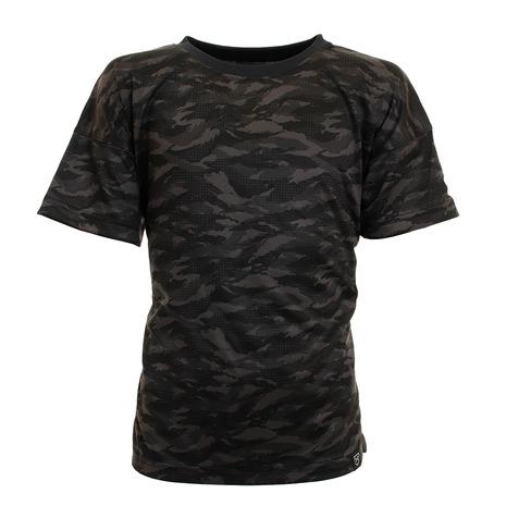 アンダーアーマー UNDER ARMOUR ボーイズ テック カモ グラフィック 半袖Tシャツ BLK BB 1354427 野球 ウェア スポーツ キッズ 高額売筋 定番スタイル ジュニア