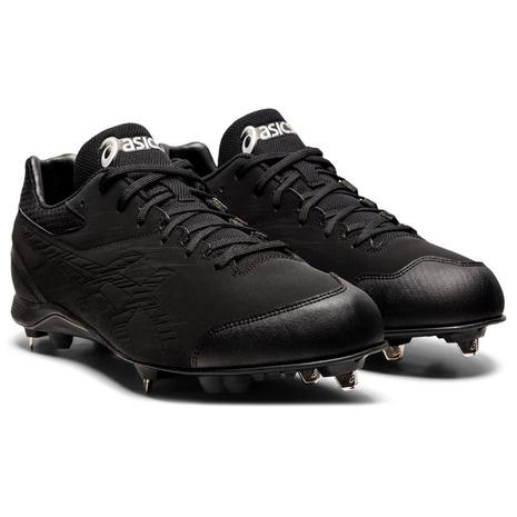 アシックス(ASICS) NEOREVIVE 4 (ネオリバイブ 4)  野球スパイク 金具 1123A022.001 ブラック(黒) (メンズ)
