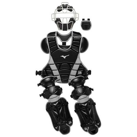 ミズノ(MIZUNO) ジュニア 少年軟式捕手防具4点セット 1DJPC00809 (Jr)